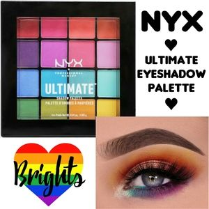 NYX Brights Ultimate Eyeshadow Palette